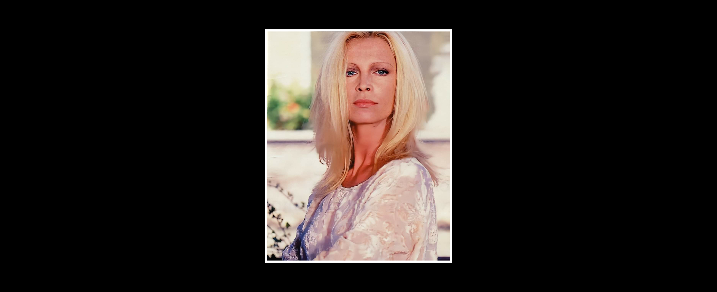 Patty Pravo PORTRAIT PHOTO CARLO BELLINCAMPI