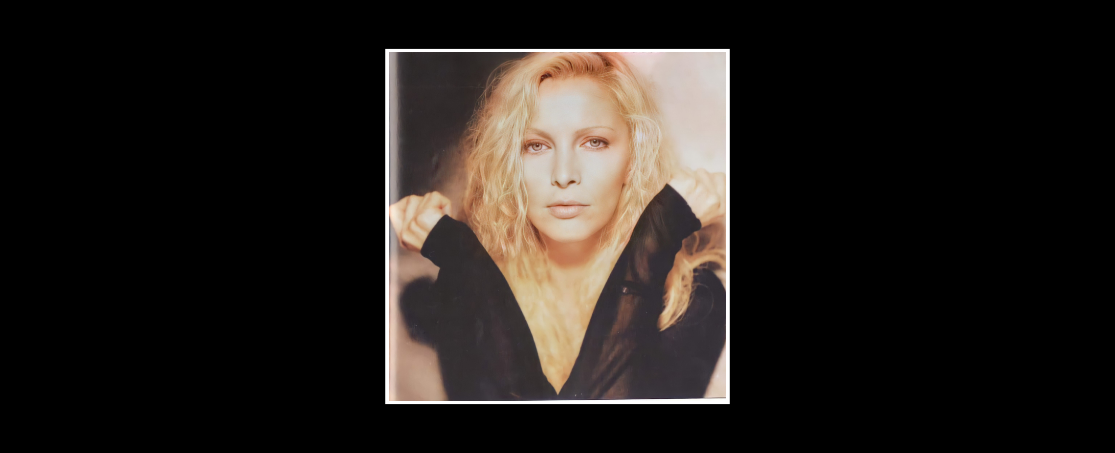 Patty Pravo OLTRE L'EDEN PHOTO SHOOTING 1989